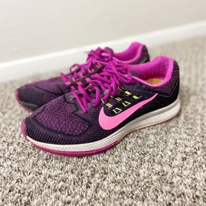 NIKE • Zoom Structure 18 Running Trainers Sz 8.5